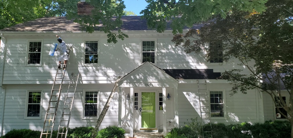 Awesome Richmond Va Exterior Painters Jacobs Ladder Construction Download Free Architecture Designs Ferenbritishbridgeorg