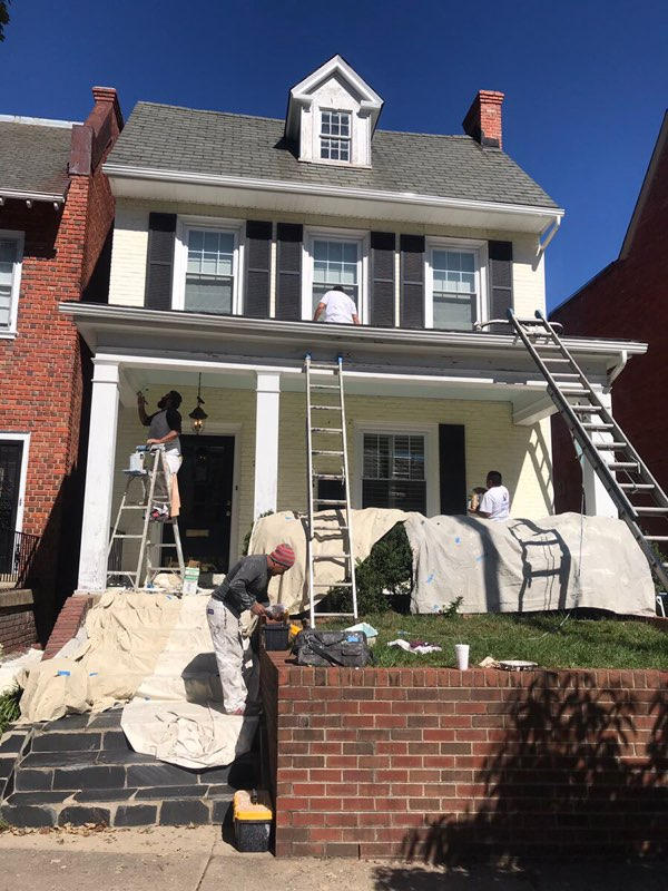 Richmond Va Exterior Painters Jacob S Ladder Construction